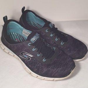 Skechers Air Cooled Memory Foam Shoes Women's 8